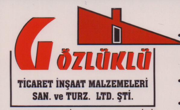 Gözlüklü Ticaret İnşaat Malzemeri San.Tic.Ltd.Şti.