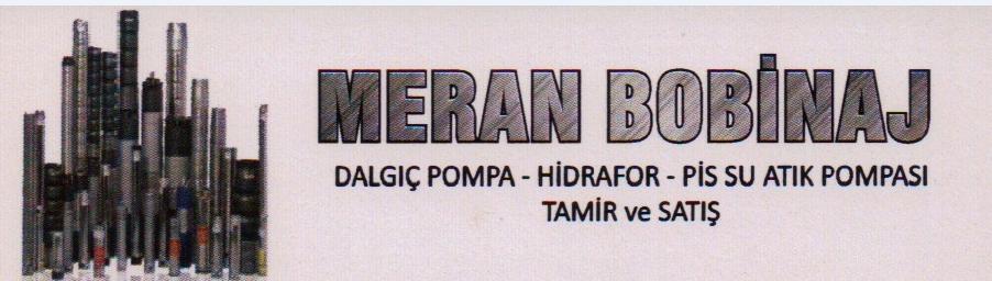 Mer-An Bobinaj Dalgıç Pompa Hidrafor Tamir Satış